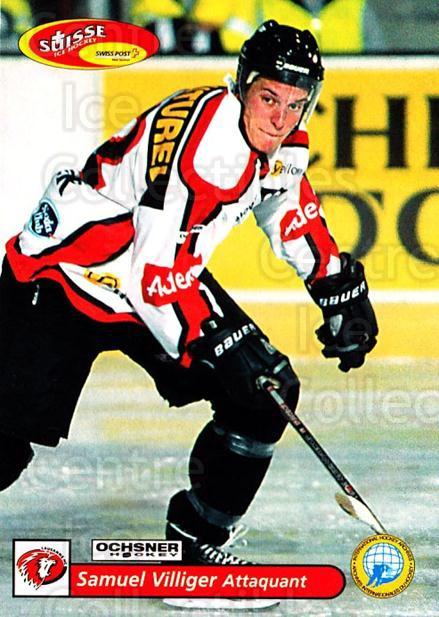 2001-02 Swiss Ice Hockey Cards #288 Samuel Villiger<br/>2 In Stock - $2.00 each - <a href=https://centericecollectibles.foxycart.com/cart?name=2001-02%20Swiss%20Ice%20Hockey%20Cards%20%23288%20Samuel%20Villiger...&quantity_max=2&price=$2.00&code=220833 class=foxycart> Buy it now! </a>