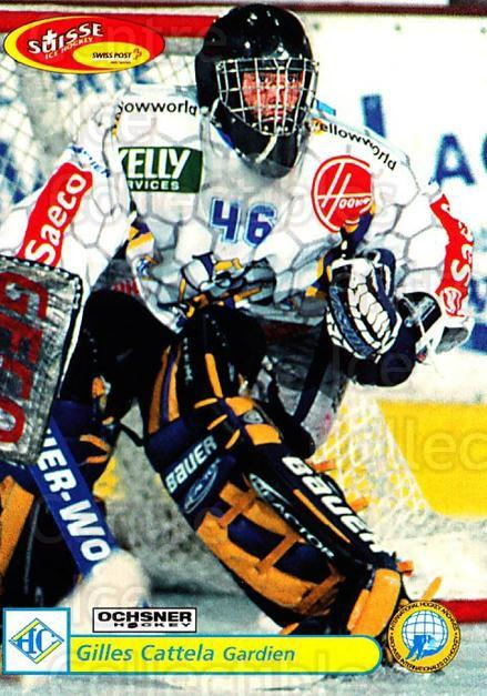 2001-02 Swiss Ice Hockey Cards #293 Gilles Cattela<br/>2 In Stock - $2.00 each - <a href=https://centericecollectibles.foxycart.com/cart?name=2001-02%20Swiss%20Ice%20Hockey%20Cards%20%23293%20Gilles%20Cattela...&quantity_max=2&price=$2.00&code=220838 class=foxycart> Buy it now! </a>