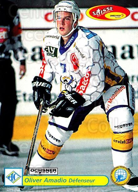 2001-02 Swiss Ice Hockey Cards #295 Oliver Amadio<br/>2 In Stock - $2.00 each - <a href=https://centericecollectibles.foxycart.com/cart?name=2001-02%20Swiss%20Ice%20Hockey%20Cards%20%23295%20Oliver%20Amadio...&quantity_max=2&price=$2.00&code=220840 class=foxycart> Buy it now! </a>