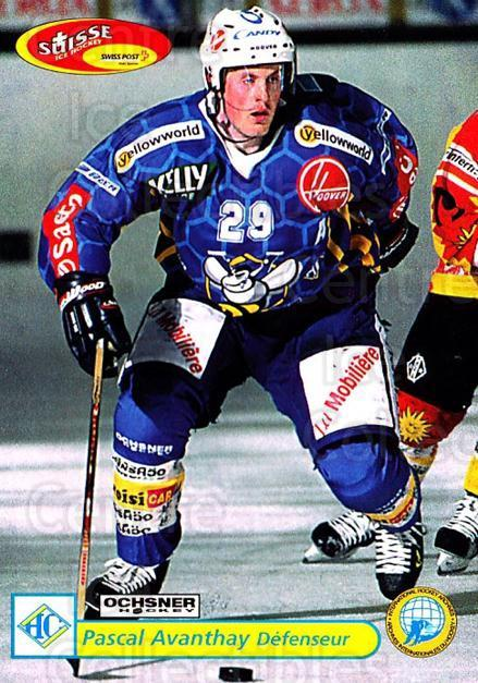 2001-02 Swiss Ice Hockey Cards #296 Pascal Avanthay<br/>3 In Stock - $2.00 each - <a href=https://centericecollectibles.foxycart.com/cart?name=2001-02%20Swiss%20Ice%20Hockey%20Cards%20%23296%20Pascal%20Avanthay...&quantity_max=3&price=$2.00&code=220841 class=foxycart> Buy it now! </a>