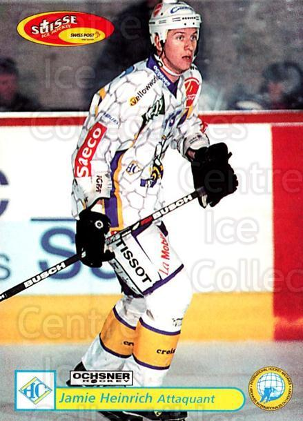 2001-02 Swiss Ice Hockey Cards #305 Jamie Heinrich<br/>2 In Stock - $2.00 each - <a href=https://centericecollectibles.foxycart.com/cart?name=2001-02%20Swiss%20Ice%20Hockey%20Cards%20%23305%20Jamie%20Heinrich...&quantity_max=2&price=$2.00&code=220850 class=foxycart> Buy it now! </a>