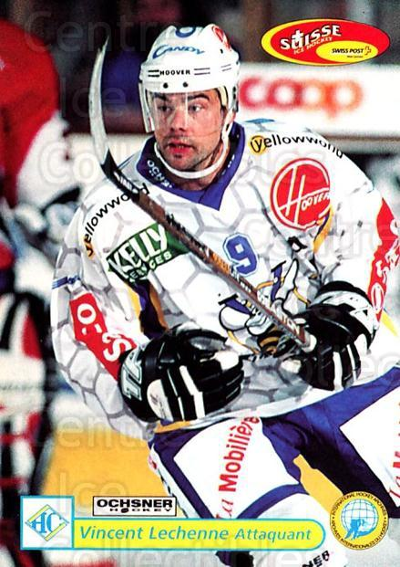 2001-02 Swiss Ice Hockey Cards #306 Vincent Lechenne<br/>2 In Stock - $2.00 each - <a href=https://centericecollectibles.foxycart.com/cart?name=2001-02%20Swiss%20Ice%20Hockey%20Cards%20%23306%20Vincent%20Lechenn...&quantity_max=2&price=$2.00&code=220851 class=foxycart> Buy it now! </a>