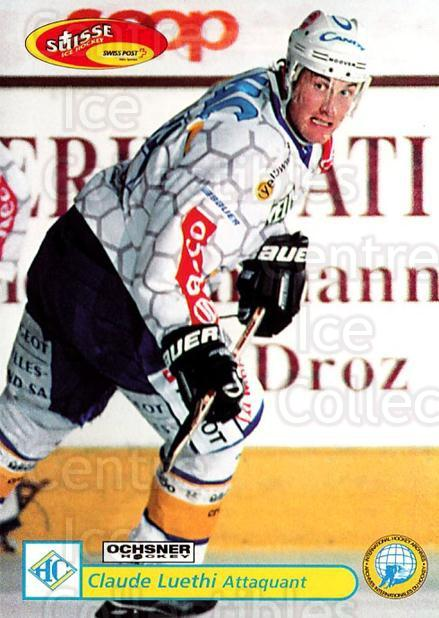 2001-02 Swiss Ice Hockey Cards #307 Claude Luhti<br/>2 In Stock - $2.00 each - <a href=https://centericecollectibles.foxycart.com/cart?name=2001-02%20Swiss%20Ice%20Hockey%20Cards%20%23307%20Claude%20Luhti...&quantity_max=2&price=$2.00&code=220852 class=foxycart> Buy it now! </a>