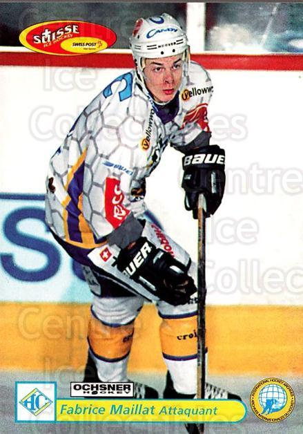 2001-02 Swiss Ice Hockey Cards #308 Fabrice Maillat<br/>2 In Stock - $2.00 each - <a href=https://centericecollectibles.foxycart.com/cart?name=2001-02%20Swiss%20Ice%20Hockey%20Cards%20%23308%20Fabrice%20Maillat...&quantity_max=2&price=$2.00&code=220853 class=foxycart> Buy it now! </a>