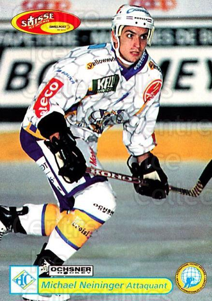 2001-02 Swiss Ice Hockey Cards #310 Michael Neininger<br/>2 In Stock - $2.00 each - <a href=https://centericecollectibles.foxycart.com/cart?name=2001-02%20Swiss%20Ice%20Hockey%20Cards%20%23310%20Michael%20Neining...&quantity_max=2&price=$2.00&code=220855 class=foxycart> Buy it now! </a>