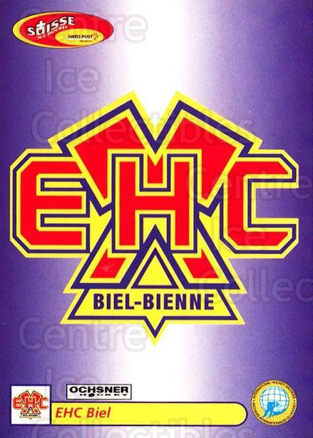 2001-02 Swiss Ice Hockey Cards #312 Biel<br/>2 In Stock - $2.00 each - <a href=https://centericecollectibles.foxycart.com/cart?name=2001-02%20Swiss%20Ice%20Hockey%20Cards%20%23312%20Biel...&quantity_max=2&price=$2.00&code=220857 class=foxycart> Buy it now! </a>
