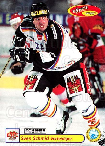 2001-02 Swiss Ice Hockey Cards #319 Sven Schmid<br/>2 In Stock - $2.00 each - <a href=https://centericecollectibles.foxycart.com/cart?name=2001-02%20Swiss%20Ice%20Hockey%20Cards%20%23319%20Sven%20Schmid...&quantity_max=2&price=$2.00&code=220864 class=foxycart> Buy it now! </a>