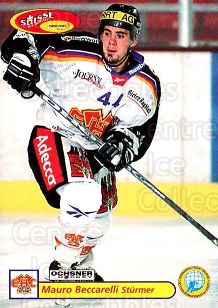 2001-02 Swiss Ice Hockey Cards #322 Mauro Beccarelli<br/>2 In Stock - $2.00 each - <a href=https://centericecollectibles.foxycart.com/cart?name=2001-02%20Swiss%20Ice%20Hockey%20Cards%20%23322%20Mauro%20Beccarell...&quantity_max=2&price=$2.00&code=220867 class=foxycart> Buy it now! </a>