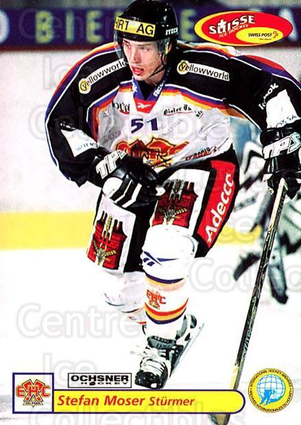 2001-02 Swiss Ice Hockey Cards #325 Stefan Moser<br/>2 In Stock - $2.00 each - <a href=https://centericecollectibles.foxycart.com/cart?name=2001-02%20Swiss%20Ice%20Hockey%20Cards%20%23325%20Stefan%20Moser...&quantity_max=2&price=$2.00&code=220870 class=foxycart> Buy it now! </a>