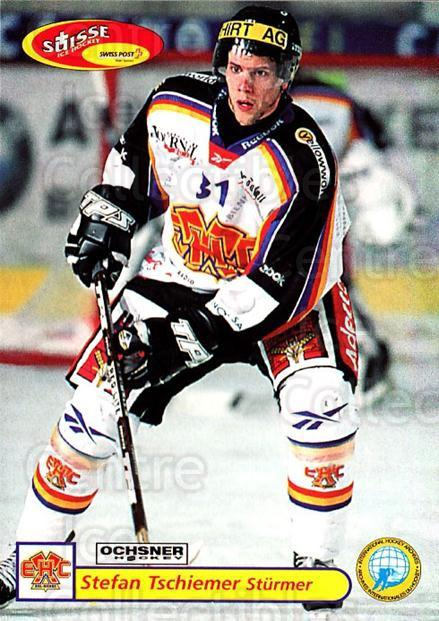 2001-02 Swiss Ice Hockey Cards #332 Stefan Tschiemer<br/>2 In Stock - $2.00 each - <a href=https://centericecollectibles.foxycart.com/cart?name=2001-02%20Swiss%20Ice%20Hockey%20Cards%20%23332%20Stefan%20Tschieme...&quantity_max=2&price=$2.00&code=220877 class=foxycart> Buy it now! </a>