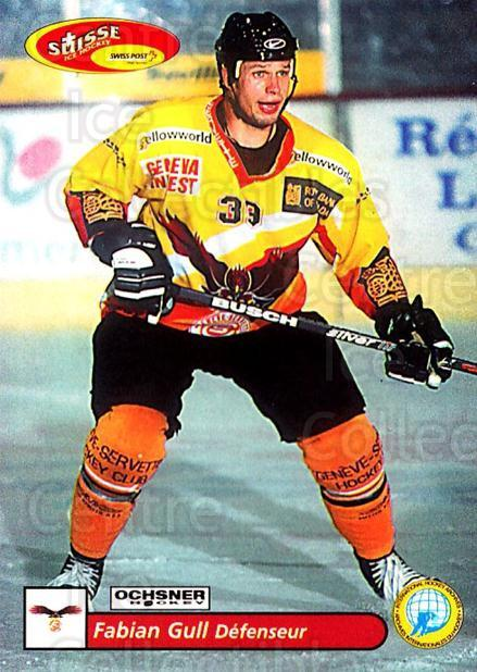2001-02 Swiss Ice Hockey Cards #339 Fabian Gull<br/>2 In Stock - $2.00 each - <a href=https://centericecollectibles.foxycart.com/cart?name=2001-02%20Swiss%20Ice%20Hockey%20Cards%20%23339%20Fabian%20Gull...&quantity_max=2&price=$2.00&code=220884 class=foxycart> Buy it now! </a>