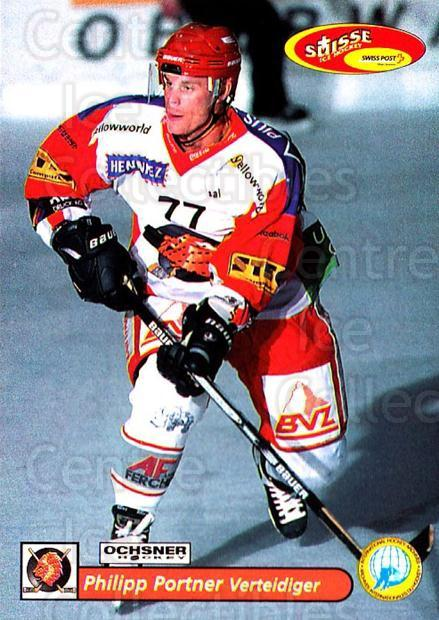 2001-02 Swiss Ice Hockey Cards #360 Philippe Portner<br/>2 In Stock - $2.00 each - <a href=https://centericecollectibles.foxycart.com/cart?name=2001-02%20Swiss%20Ice%20Hockey%20Cards%20%23360%20Philippe%20Portne...&quantity_max=2&price=$2.00&code=220905 class=foxycart> Buy it now! </a>