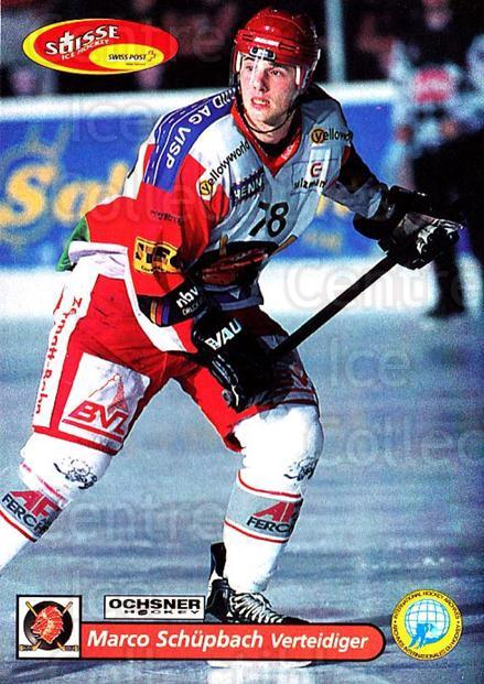 2001-02 Swiss Ice Hockey Cards #362 Marco Schupach<br/>2 In Stock - $2.00 each - <a href=https://centericecollectibles.foxycart.com/cart?name=2001-02%20Swiss%20Ice%20Hockey%20Cards%20%23362%20Marco%20Schupach...&quantity_max=2&price=$2.00&code=220907 class=foxycart> Buy it now! </a>