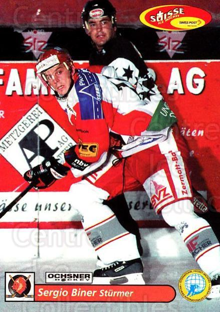 2001-02 Swiss Ice Hockey Cards #365 Sergio Biner<br/>2 In Stock - $2.00 each - <a href=https://centericecollectibles.foxycart.com/cart?name=2001-02%20Swiss%20Ice%20Hockey%20Cards%20%23365%20Sergio%20Biner...&quantity_max=2&price=$2.00&code=220910 class=foxycart> Buy it now! </a>