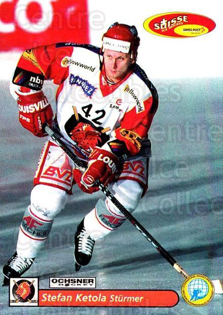 2001-02 Swiss Ice Hockey Cards #368 Stefan Ketola<br/>2 In Stock - $2.00 each - <a href=https://centericecollectibles.foxycart.com/cart?name=2001-02%20Swiss%20Ice%20Hockey%20Cards%20%23368%20Stefan%20Ketola...&quantity_max=2&price=$2.00&code=220913 class=foxycart> Buy it now! </a>
