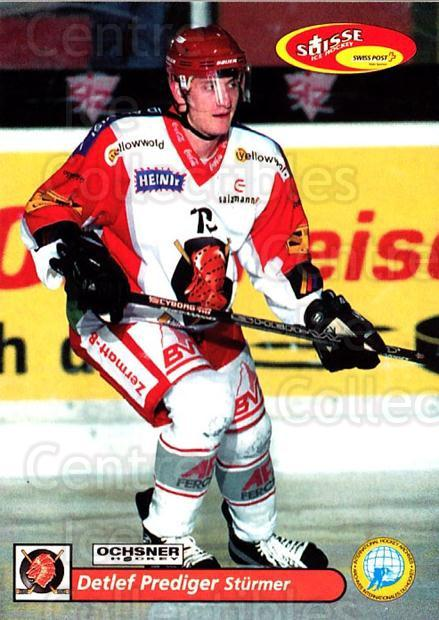 2001-02 Swiss Ice Hockey Cards #372 Detlef Prediger<br/>2 In Stock - $2.00 each - <a href=https://centericecollectibles.foxycart.com/cart?name=2001-02%20Swiss%20Ice%20Hockey%20Cards%20%23372%20Detlef%20Prediger...&quantity_max=2&price=$2.00&code=220917 class=foxycart> Buy it now! </a>