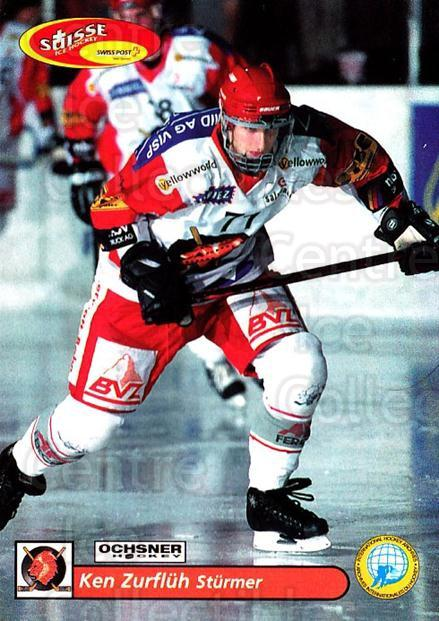 2001-02 Swiss Ice Hockey Cards #374 Ken Zurfluh<br/>2 In Stock - $2.00 each - <a href=https://centericecollectibles.foxycart.com/cart?name=2001-02%20Swiss%20Ice%20Hockey%20Cards%20%23374%20Ken%20Zurfluh...&quantity_max=2&price=$2.00&code=220919 class=foxycart> Buy it now! </a>