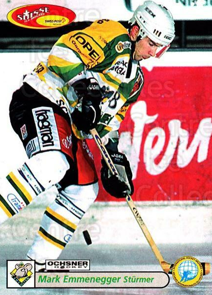 2001-02 Swiss Ice Hockey Cards #381 Mark Emmenegger<br/>2 In Stock - $2.00 each - <a href=https://centericecollectibles.foxycart.com/cart?name=2001-02%20Swiss%20Ice%20Hockey%20Cards%20%23381%20Mark%20Emmenegger...&quantity_max=2&price=$2.00&code=220926 class=foxycart> Buy it now! </a>