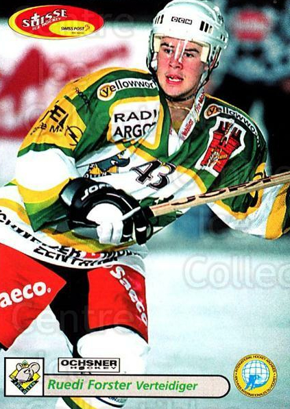 2001-02 Swiss Ice Hockey Cards #382 Ruedi Forster<br/>2 In Stock - $2.00 each - <a href=https://centericecollectibles.foxycart.com/cart?name=2001-02%20Swiss%20Ice%20Hockey%20Cards%20%23382%20Ruedi%20Forster...&quantity_max=2&price=$2.00&code=220927 class=foxycart> Buy it now! </a>