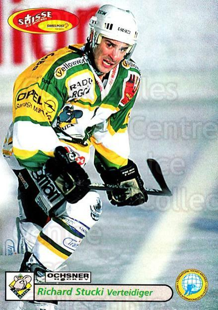 2001-02 Swiss Ice Hockey Cards #384 Richard Stucki<br/>2 In Stock - $2.00 each - <a href=https://centericecollectibles.foxycart.com/cart?name=2001-02%20Swiss%20Ice%20Hockey%20Cards%20%23384%20Richard%20Stucki...&quantity_max=2&price=$2.00&code=220929 class=foxycart> Buy it now! </a>