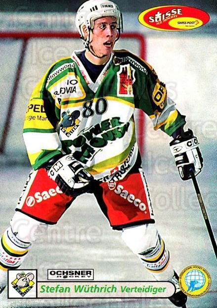 2001-02 Swiss Ice Hockey Cards #385 Stefan Wuthrich<br/>2 In Stock - $2.00 each - <a href=https://centericecollectibles.foxycart.com/cart?name=2001-02%20Swiss%20Ice%20Hockey%20Cards%20%23385%20Stefan%20Wuthrich...&quantity_max=2&price=$2.00&code=220930 class=foxycart> Buy it now! </a>