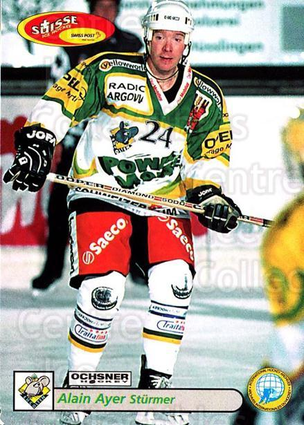 2001-02 Swiss Ice Hockey Cards #386 Alain Ayer<br/>2 In Stock - $2.00 each - <a href=https://centericecollectibles.foxycart.com/cart?name=2001-02%20Swiss%20Ice%20Hockey%20Cards%20%23386%20Alain%20Ayer...&quantity_max=2&price=$2.00&code=220931 class=foxycart> Buy it now! </a>