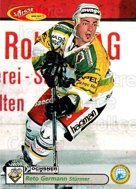 2001-02 Swiss Ice Hockey Cards #388 Reto Germann<br/>1 In Stock - $2.00 each - <a href=https://centericecollectibles.foxycart.com/cart?name=2001-02%20Swiss%20Ice%20Hockey%20Cards%20%23388%20Reto%20Germann...&quantity_max=1&price=$2.00&code=220933 class=foxycart> Buy it now! </a>