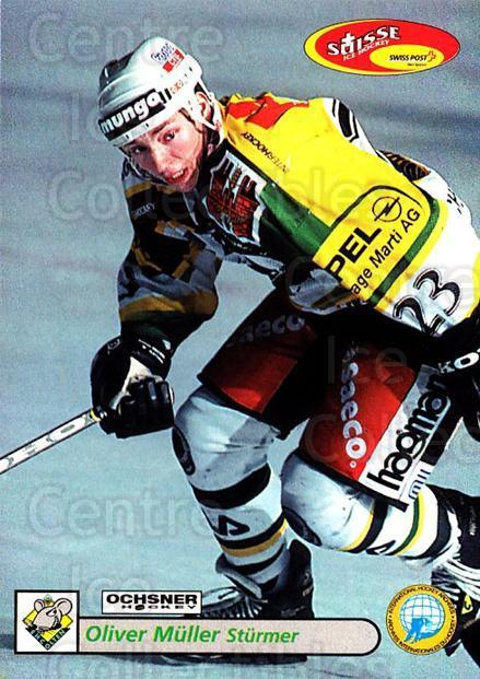 2001-02 Swiss Ice Hockey Cards #392 Oliver Muller<br/>2 In Stock - $2.00 each - <a href=https://centericecollectibles.foxycart.com/cart?name=2001-02%20Swiss%20Ice%20Hockey%20Cards%20%23392%20Oliver%20Muller...&quantity_max=2&price=$2.00&code=220937 class=foxycart> Buy it now! </a>