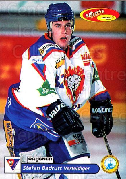 2001-02 Swiss Ice Hockey Cards #400 Stefan Badrutt<br/>2 In Stock - $2.00 each - <a href=https://centericecollectibles.foxycart.com/cart?name=2001-02%20Swiss%20Ice%20Hockey%20Cards%20%23400%20Stefan%20Badrutt...&quantity_max=2&price=$2.00&code=220945 class=foxycart> Buy it now! </a>