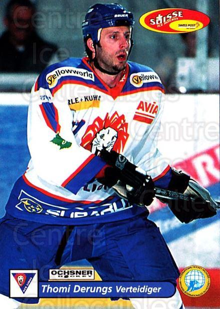 2001-02 Swiss Ice Hockey Cards #402 Thomi Derungs<br/>2 In Stock - $2.00 each - <a href=https://centericecollectibles.foxycart.com/cart?name=2001-02%20Swiss%20Ice%20Hockey%20Cards%20%23402%20Thomi%20Derungs...&quantity_max=2&price=$2.00&code=220947 class=foxycart> Buy it now! </a>