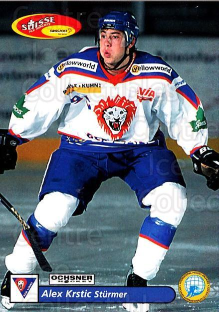 2001-02 Swiss Ice Hockey Cards #408 Alex Krstic<br/>2 In Stock - $2.00 each - <a href=https://centericecollectibles.foxycart.com/cart?name=2001-02%20Swiss%20Ice%20Hockey%20Cards%20%23408%20Alex%20Krstic...&quantity_max=2&price=$2.00&code=220953 class=foxycart> Buy it now! </a>
