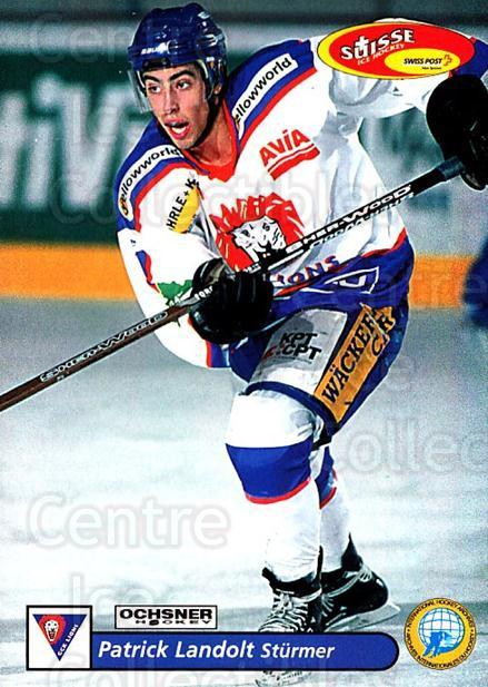 2001-02 Swiss Ice Hockey Cards #409 Patrick Landolt<br/>2 In Stock - $2.00 each - <a href=https://centericecollectibles.foxycart.com/cart?name=2001-02%20Swiss%20Ice%20Hockey%20Cards%20%23409%20Patrick%20Landolt...&quantity_max=2&price=$2.00&code=220954 class=foxycart> Buy it now! </a>