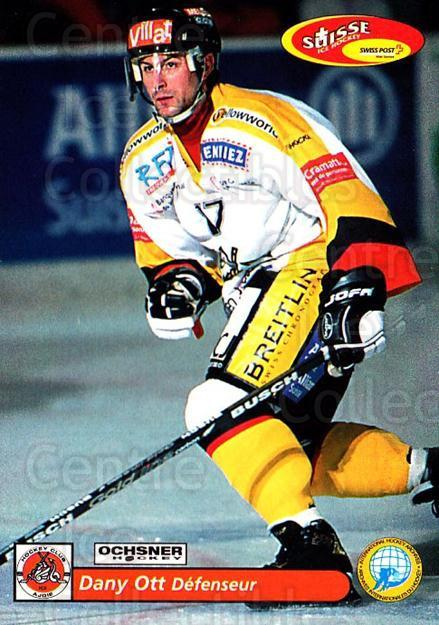 2001-02 Swiss Ice Hockey Cards #422 Dany Ott<br/>2 In Stock - $2.00 each - <a href=https://centericecollectibles.foxycart.com/cart?name=2001-02%20Swiss%20Ice%20Hockey%20Cards%20%23422%20Dany%20Ott...&quantity_max=2&price=$2.00&code=220967 class=foxycart> Buy it now! </a>