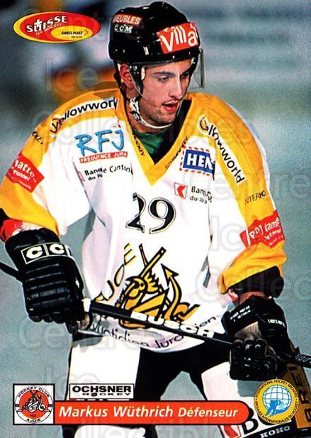 2001-02 Swiss Ice Hockey Cards #425 Markus Wuthrich<br/>2 In Stock - $2.00 each - <a href=https://centericecollectibles.foxycart.com/cart?name=2001-02%20Swiss%20Ice%20Hockey%20Cards%20%23425%20Markus%20Wuthrich...&quantity_max=2&price=$2.00&code=220970 class=foxycart> Buy it now! </a>