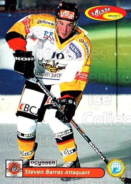 2001-02 Swiss Ice Hockey Cards #426 Steven Barras<br/>2 In Stock - $2.00 each - <a href=https://centericecollectibles.foxycart.com/cart?name=2001-02%20Swiss%20Ice%20Hockey%20Cards%20%23426%20Steven%20Barras...&quantity_max=2&price=$2.00&code=220971 class=foxycart> Buy it now! </a>
