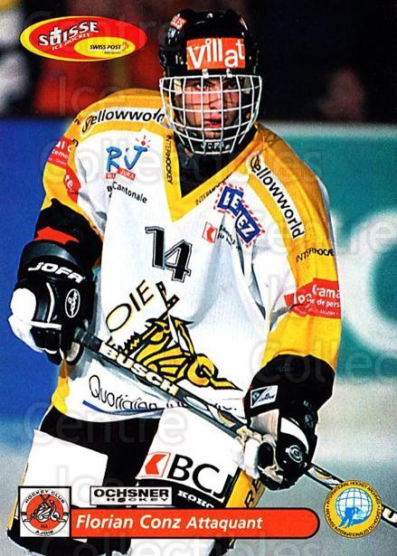 2001-02 Swiss Ice Hockey Cards #429 Florian Conz<br/>2 In Stock - $2.00 each - <a href=https://centericecollectibles.foxycart.com/cart?name=2001-02%20Swiss%20Ice%20Hockey%20Cards%20%23429%20Florian%20Conz...&quantity_max=2&price=$2.00&code=220974 class=foxycart> Buy it now! </a>