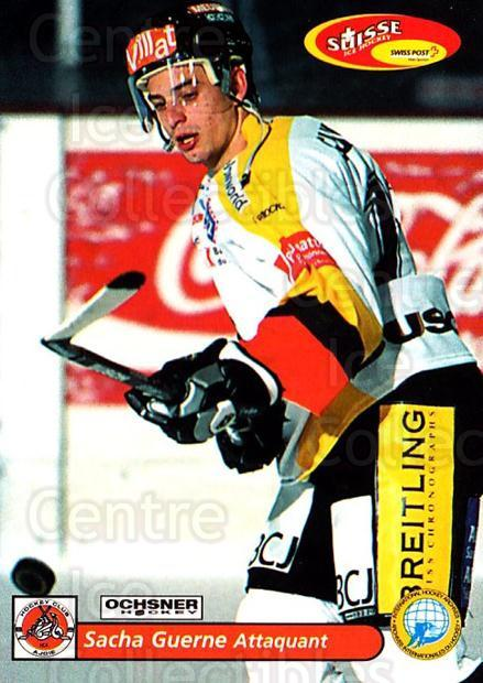 2001-02 Swiss Ice Hockey Cards #431 Sacha Guerne<br/>2 In Stock - $2.00 each - <a href=https://centericecollectibles.foxycart.com/cart?name=2001-02%20Swiss%20Ice%20Hockey%20Cards%20%23431%20Sacha%20Guerne...&quantity_max=2&price=$2.00&code=220976 class=foxycart> Buy it now! </a>