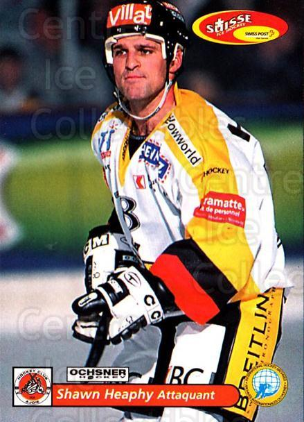 2001-02 Swiss Ice Hockey Cards #432 Shawn Heaphy<br/>1 In Stock - $2.00 each - <a href=https://centericecollectibles.foxycart.com/cart?name=2001-02%20Swiss%20Ice%20Hockey%20Cards%20%23432%20Shawn%20Heaphy...&quantity_max=1&price=$2.00&code=220977 class=foxycart> Buy it now! </a>