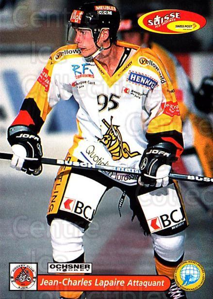 2001-02 Swiss Ice Hockey Cards #434 Jean-Charles Lapaire<br/>2 In Stock - $2.00 each - <a href=https://centericecollectibles.foxycart.com/cart?name=2001-02%20Swiss%20Ice%20Hockey%20Cards%20%23434%20Jean-Charles%20La...&quantity_max=2&price=$2.00&code=220979 class=foxycart> Buy it now! </a>