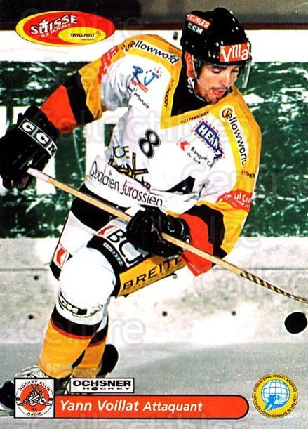 2001-02 Swiss Ice Hockey Cards #437 Yann Voillat<br/>2 In Stock - $2.00 each - <a href=https://centericecollectibles.foxycart.com/cart?name=2001-02%20Swiss%20Ice%20Hockey%20Cards%20%23437%20Yann%20Voillat...&quantity_max=2&price=$2.00&code=220982 class=foxycart> Buy it now! </a>