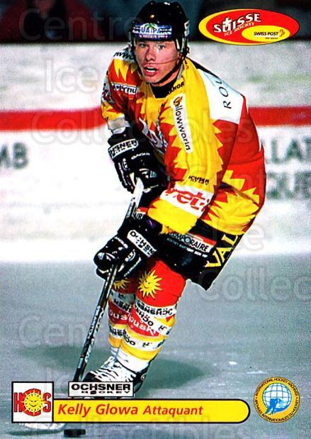 2001-02 Swiss Ice Hockey Cards #451 Kelly Glowa<br/>2 In Stock - $2.00 each - <a href=https://centericecollectibles.foxycart.com/cart?name=2001-02%20Swiss%20Ice%20Hockey%20Cards%20%23451%20Kelly%20Glowa...&quantity_max=2&price=$2.00&code=220996 class=foxycart> Buy it now! </a>