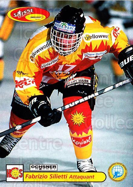 2001-02 Swiss Ice Hockey Cards #456 Fabrizio Silietti<br/>2 In Stock - $2.00 each - <a href=https://centericecollectibles.foxycart.com/cart?name=2001-02%20Swiss%20Ice%20Hockey%20Cards%20%23456%20Fabrizio%20Siliet...&quantity_max=2&price=$2.00&code=221001 class=foxycart> Buy it now! </a>