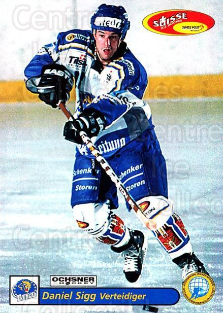 2001-02 Swiss Ice Hockey Cards #469 Daniel Sigg<br/>2 In Stock - $2.00 each - <a href=https://centericecollectibles.foxycart.com/cart?name=2001-02%20Swiss%20Ice%20Hockey%20Cards%20%23469%20Daniel%20Sigg...&quantity_max=2&price=$2.00&code=221014 class=foxycart> Buy it now! </a>