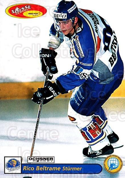 2001-02 Swiss Ice Hockey Cards #470 Rico Beltrame<br/>2 In Stock - $2.00 each - <a href=https://centericecollectibles.foxycart.com/cart?name=2001-02%20Swiss%20Ice%20Hockey%20Cards%20%23470%20Rico%20Beltrame...&quantity_max=2&price=$2.00&code=221015 class=foxycart> Buy it now! </a>