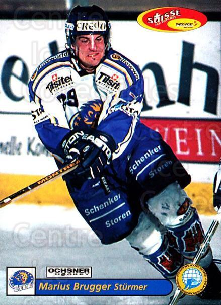 2001-02 Swiss Ice Hockey Cards #471 Marius Brugger<br/>2 In Stock - $2.00 each - <a href=https://centericecollectibles.foxycart.com/cart?name=2001-02%20Swiss%20Ice%20Hockey%20Cards%20%23471%20Marius%20Brugger...&quantity_max=2&price=$2.00&code=221016 class=foxycart> Buy it now! </a>