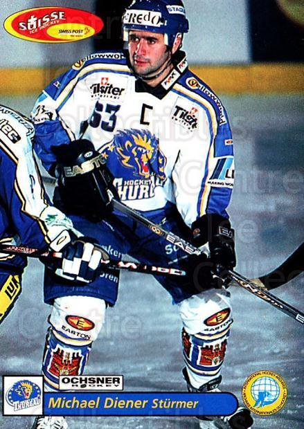 2001-02 Swiss Ice Hockey Cards #473 Michael Diener<br/>2 In Stock - $2.00 each - <a href=https://centericecollectibles.foxycart.com/cart?name=2001-02%20Swiss%20Ice%20Hockey%20Cards%20%23473%20Michael%20Diener...&quantity_max=2&price=$2.00&code=221018 class=foxycart> Buy it now! </a>