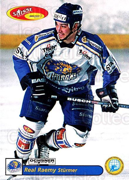 2001-02 Swiss Ice Hockey Cards #476 Real Raemy<br/>2 In Stock - $2.00 each - <a href=https://centericecollectibles.foxycart.com/cart?name=2001-02%20Swiss%20Ice%20Hockey%20Cards%20%23476%20Real%20Raemy...&quantity_max=2&price=$2.00&code=221021 class=foxycart> Buy it now! </a>