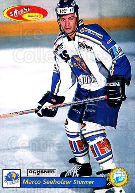2001-02 Swiss Ice Hockey Cards #477 Marco Seeholzer<br/>2 In Stock - $2.00 each - <a href=https://centericecollectibles.foxycart.com/cart?name=2001-02%20Swiss%20Ice%20Hockey%20Cards%20%23477%20Marco%20Seeholzer...&quantity_max=2&price=$2.00&code=221022 class=foxycart> Buy it now! </a>
