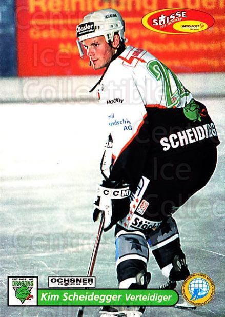 2001-02 Swiss Ice Hockey Cards #487 Kim Scheidegger<br/>2 In Stock - $2.00 each - <a href=https://centericecollectibles.foxycart.com/cart?name=2001-02%20Swiss%20Ice%20Hockey%20Cards%20%23487%20Kim%20Scheidegger...&quantity_max=2&price=$2.00&code=221032 class=foxycart> Buy it now! </a>