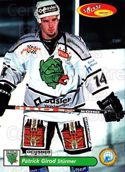 2001-02 Swiss Ice Hockey Cards #491 Patrick Girod<br/>2 In Stock - $2.00 each - <a href=https://centericecollectibles.foxycart.com/cart?name=2001-02%20Swiss%20Ice%20Hockey%20Cards%20%23491%20Patrick%20Girod...&quantity_max=2&price=$2.00&code=221036 class=foxycart> Buy it now! </a>